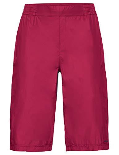 VAUDE Drop Shorts Regenhose für den Radsport Bas Femme, Rouge Cramoisi, 44