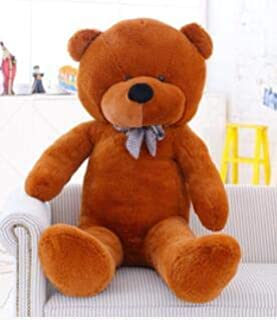 Tequila DS Animals Stuffed Pillow 100-200cm Large Bear Big Size unfilled Empty unstuffed Plush Skin Teddy Bears Case Giant Doll Stuffed Skins Toy Children Gift-Dark Brown color-180cm