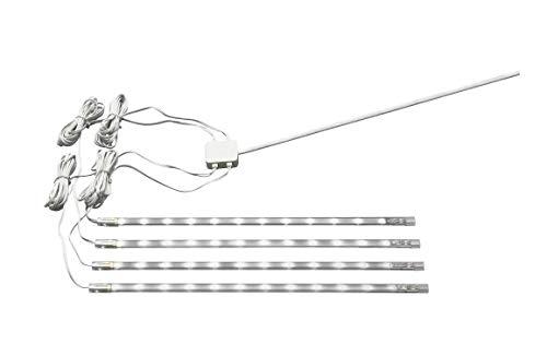 IKEAのセット4 DIODERホワイトUndercabinet LEDストリップライト
