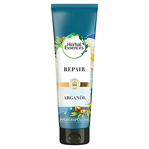 Herbal Essences PURE:renew Marokkanisches Arganöl Repair Pflegespülung, 200 ml, Conditioner, Haarpflege Arganöl, Haarpflege Glanz, Haarpflege Trockenes Haar, Arganöl...