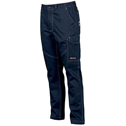 CHEMAGLIETTE! Pantaloni da Lavoro Uomo 100% Cotone Invernale Multi Tasche Payper Worker Winter