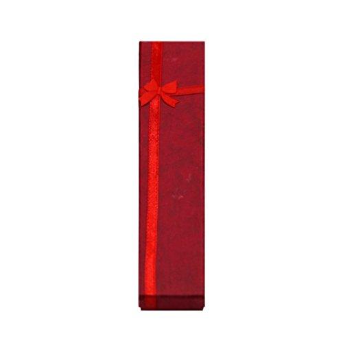 Guangcailun Schmuck Halskette Armband Geschenk Bowknot Geschenk Display Box
