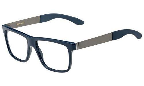Yves Saint Laurent - Gafas de vista 2348/V/RH1: azul/rutenio - 53 mm