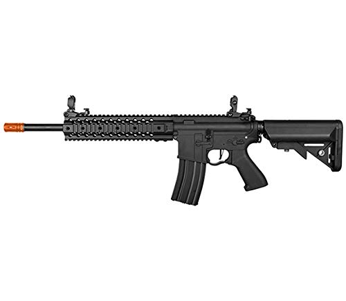 Lancer Tactical LT-12 Full Metal M4 EVO AEG Airsoft Rifle (Black with High FPS)