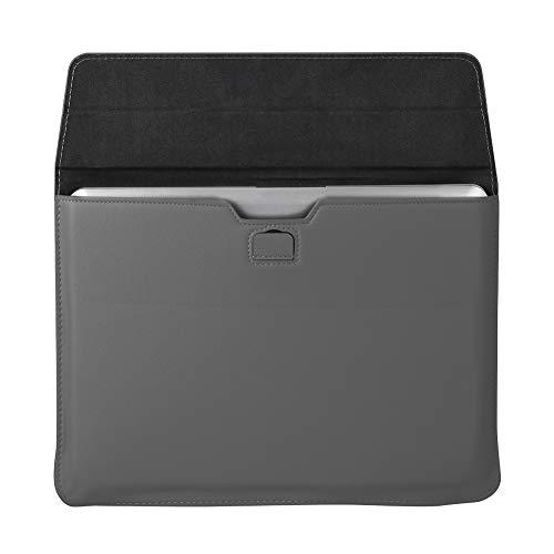 Bolso Portátil de Cuero PU para Portátil 13 13 3 Pulgadas en Forma de sobre para Portátil