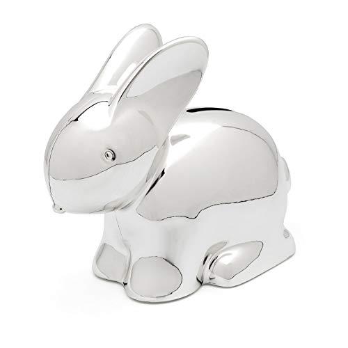 Zilverstad - Hucha de Conejo chapada en Plata