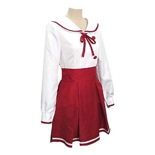 YYFS Anime, Juegos, Manga, Disfraces de Cosplay, Uniformes de Estudiantes de Pelota de Vestido de Fantasa, Tops, Faldas, Bow Lazs and Socks,Full Outfit-Small