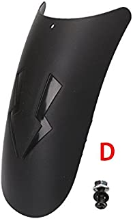 RONSHIN Motorcycle Front Mudguard Extension Fender Extender Universal Application D type Auto accesories