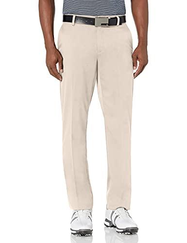 Amazon Essentials Straight-Fit Stretch golf-pants, Stone, 33W x 30L