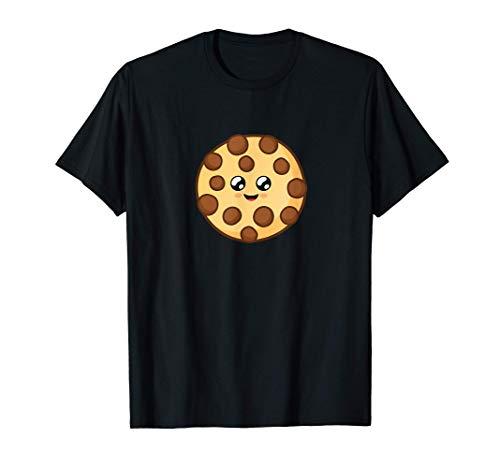 Happy Kawaii Baby Schoko Keks mit süßen Kulleraugen T-Shirt