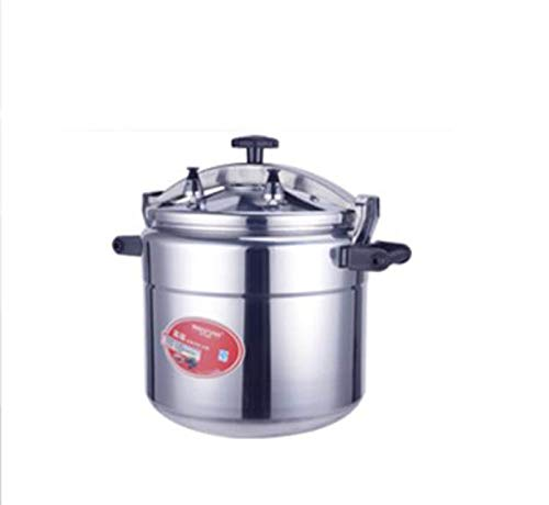 JTDSQDC 15-70ldressure Kocher Haushaltsgewerbe Großer Druckkocher Große Kapazität Verdickte Aluminiumlegierung Hot Pot Geeignet für Induktionskocher, Open Flame Electric Keramikherd usw.