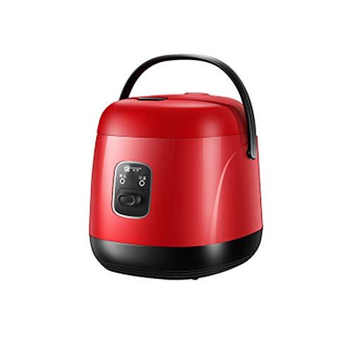 HANYF 1,2 L Mini-Reiskocher, Tragbarer Reiskocher Für Unterwegs / 15 Minuten Schnelles Kochen/Herausnehmbare Antihaftpfanne, Wärmeschutz/Geeignet Für 1-2 Personen - Zum Kochen