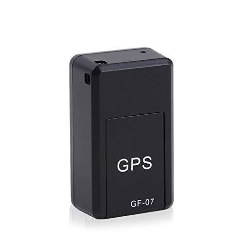 conpoir Dispositivo de Seguimiento GF07 Mini rastreador GPS Dispositivo localizador de Seguimiento en Tiempo Real Rastreador magnético antirrobo Localizador de vehículos Control de Voz