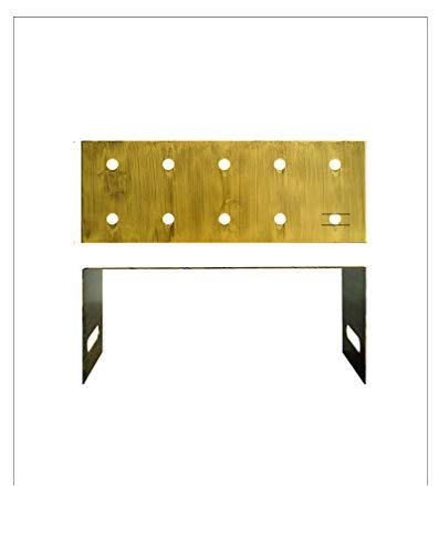 QIYINGYING Vintage Gold Push-Musikregal mittelhohe Zwergpush-Kuchen-Kuchen-Schaufenster Rahmen europäischen Hochzeits-Dessert-Tischregal EIN Kleid Short