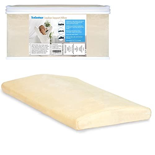 Lumbar Pillow for Sleeping, Lumbar Support Pillow...