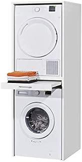Waschmaschine Und Trockner Ubereinander Kuhlschrank Auf