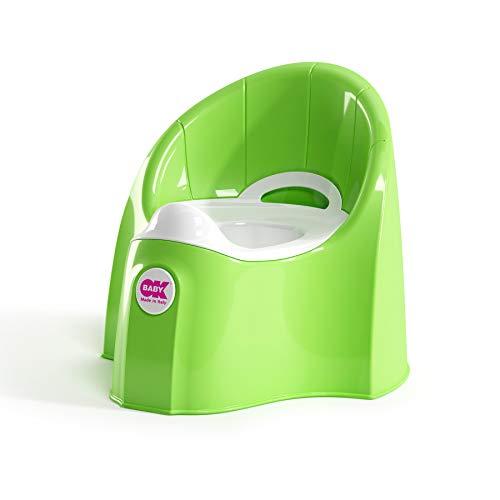 OK Baby N38914440X Pasha - das futuristische Töpfchen für entspannte Geschäfte, grün