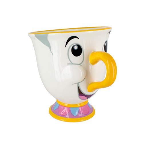 Paladone - La Belle et la Bête Mug Zip - Produit Officiel sous Licence Disney