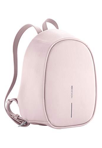 XD Design Bobby Elle Mochila Antirrobo Rosado con Puerto USB (Bolso de...