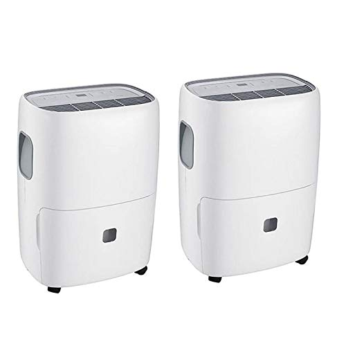 Best Price! TCL 50 Pint Energy Star Room Dehumidifier with Bucket, Timer & Filter (2 Pack)