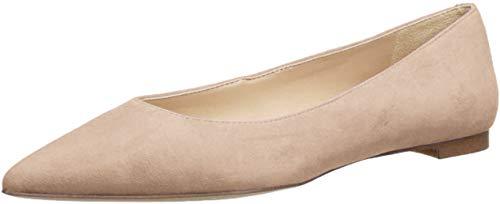 Sam Edelman Women's Sally Ballet Flat, Oatmeal Suede, 5 M US