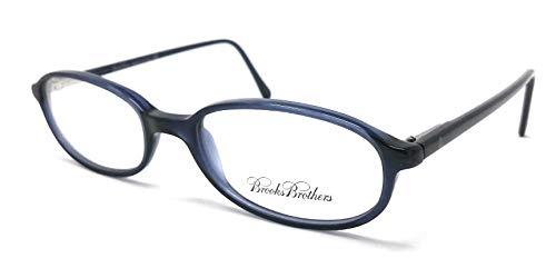 Brooks Brothers - Gafas de vista para hombre y mujer B.B. 554 BLU 5044 - CALIBRO 50