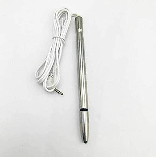 ZHENAO Métal En Acier Inoxydable Uretral Choc électrique Instrument De Physiothérapie Longueur 110mm Stimulation De Dilatation Urétrale