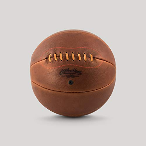 Lowest Prices! Handcrafted Classic Naismith Style Leather Basketball - Based on The Historic Naismit...