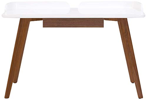 Amazon Brand -Rivet Mid-Century Home Office Computer Desk with...