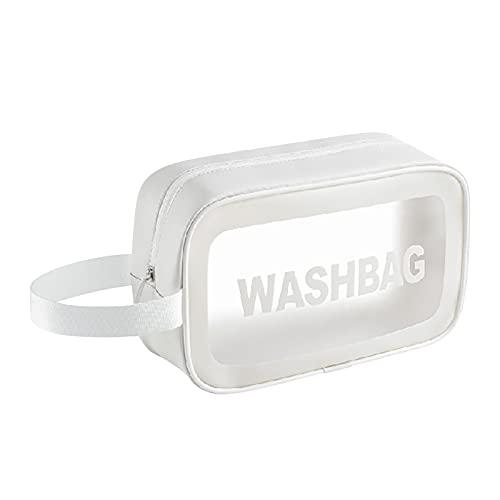 Glowjoy Trousse de toilette transparente pour voyage, avion, salle de bain