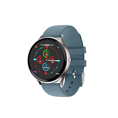 LOVOUO Nuevo Reloj Inteligente (podómetro de Seguimiento de Actividad física de 1,3 y monitorización del sueño del Ritmo cardíaco) Reloj Inteligente Deportivo con Bluetooth IP67 Impermeable