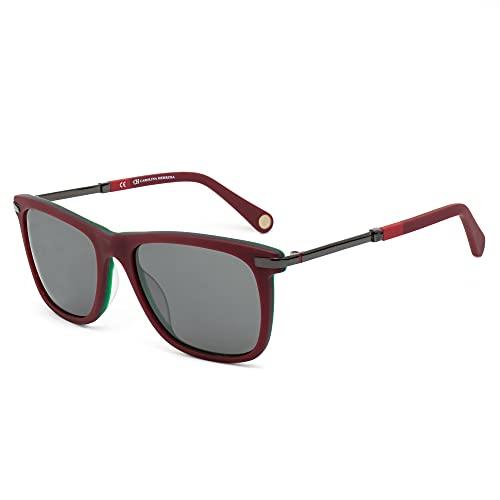 Carolina Herrera She6849Wim Gafas de Sol, Rojo, 54 para Hombre