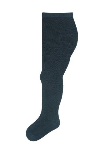 SocksAndTights Lot de 4 paires de collants en coton ultra doux pour fille Plusieurs coloris et tailles disponibles - Bleu - Bleu marine - 24 mois