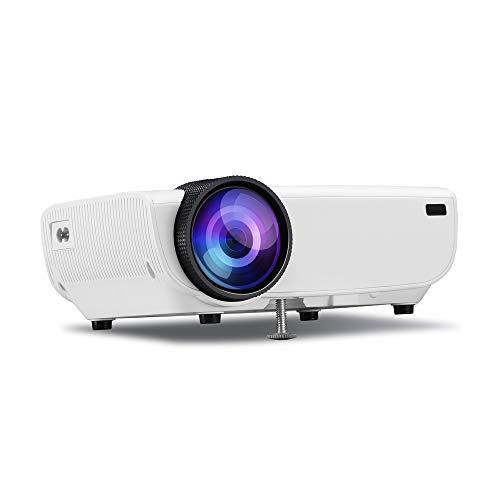 Projector, All-In-One Projector, Ingebouwde High-Fidelity Stereo, Ondersteuning voor meerdere talen, met infrarood afstandsbediening