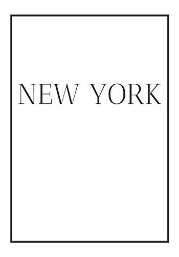 New York: A decorative book for coffee tables, end tables, bookshelves and interior design styling | Stack city books to add decor to any room. ... or as a gift for interior design savvy people