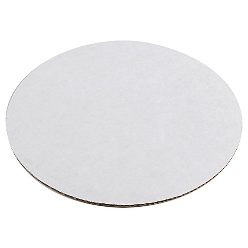 12-Pack Round Cake Boards, Cardboard Cake Circle Bases, 8 Inches Diameter, White