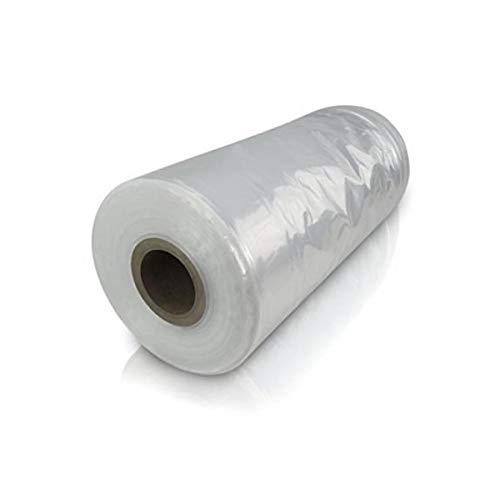 Bonerva Plástico Invernadero en Rollo | Plástico Transparente | Plástico agrícola | Plástico Protector de Plantas o Muebles (300 galgas - Rollo 4 x 50 m (200 m2))