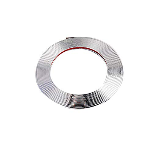 Fasclot Electroplated Wheel Bumper Protection Ring Accessories