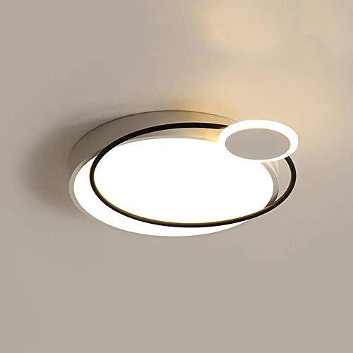 Ceiling lamp Moderne Minimaliste Circulaire Maison Chambre Lampe Tricolore Conversion Moderne Salon plafonnier élégant et Beau adapté pour Une Utilisation dans Divers endroits