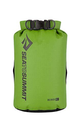 Sea to Summit Big River Drybag voor volwassenen, 8 liter, 420D ripstop nylon, TPU laminaat, Hypalon lussen pakzakken, meerkleurig, één maat