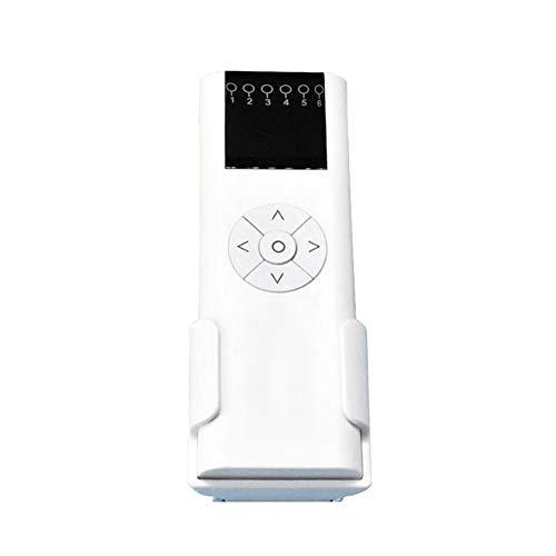 Control remoto para persianas con rodillo eléctrico, 100 – 240 V AC 1/2/6 canales motorizados para cortinas de ventana y persianas, mando a distancia