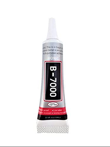 B7000 pegamento transparente 15ml para reparación de móviles con punta metálica de precisión