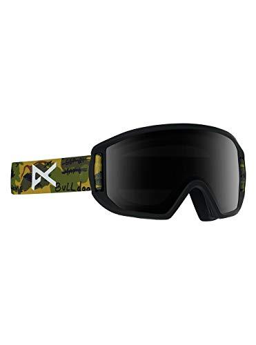 Anon Jongens Relapse Jr Mfi snowboardbril, camo/smoke