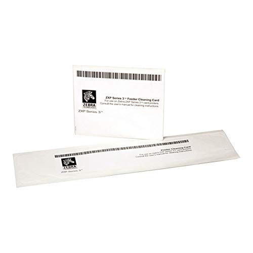 Zebra 105999-302 Cleaning Card Kit for ZXP Series 3 Printers - 4 pack (Replaced 105999-301)