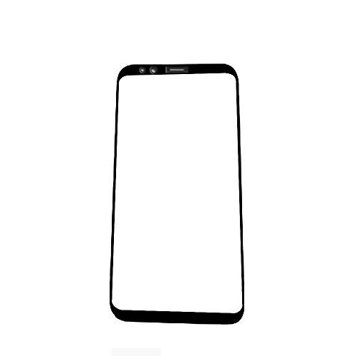 UU FIX Pantalla Cristal Frontal para Galaxy S8 Plus(Negro), LCD Touch Screen Frontal Cristal Replacment con Juego de la Herramientas.(Sin Pantalla Táctil)