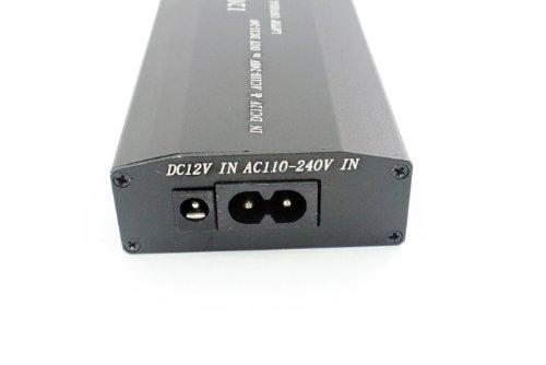 Adaptador universal ac/dc portatil 120w cargador coche pc camara ...