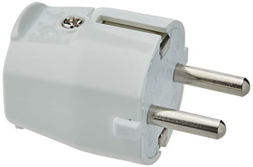 Silver Electronics 9260 Clavija Macho, Blanco