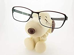cute snoopy dog eyeglasses holder