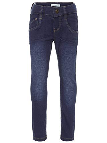 Name It Nittax Reg/Slim DNM Pant Mini Noos Jeans, Gris (Dark Blue Denim), 86 Bébé garçon