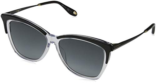 Givenchy GV 7071/S 9O 7C5 Gafas de sol, Negro (Black Crystal/Grey), 57 para Mujer